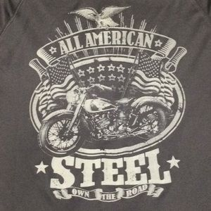 Shirts - Own the Road. All American Steel. Ride with Pride.